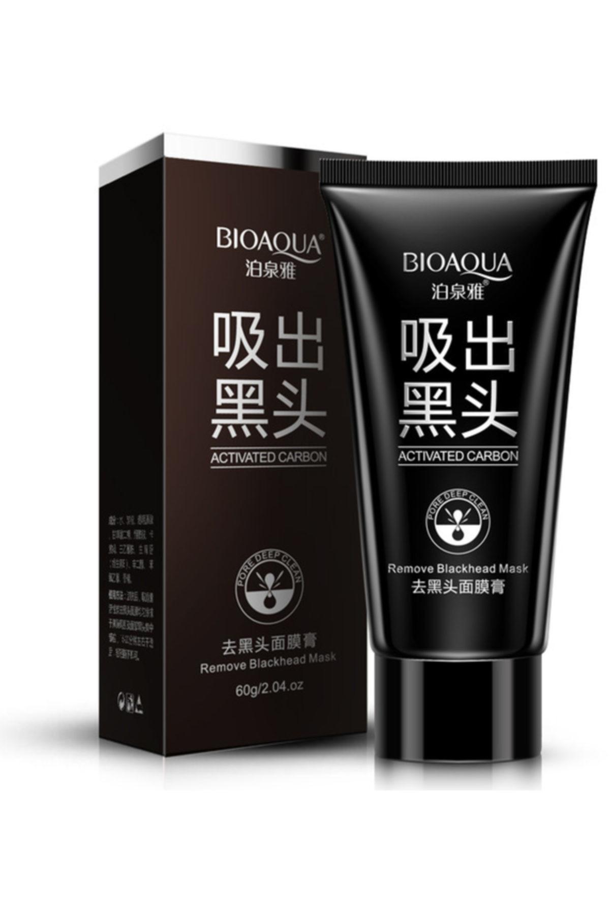 Черная маска-пленка для лица от черных точек и прыщей bioaqua